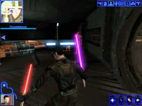 Kotor Lightsaber flourish glitch