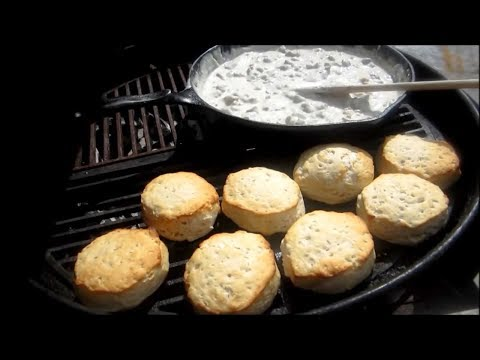 Biscuits and Gravy - Easy Sausage Gravy Recipe - The Wolfe Zone