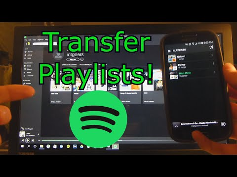 Copy Playlists between Spotify Accounts!!