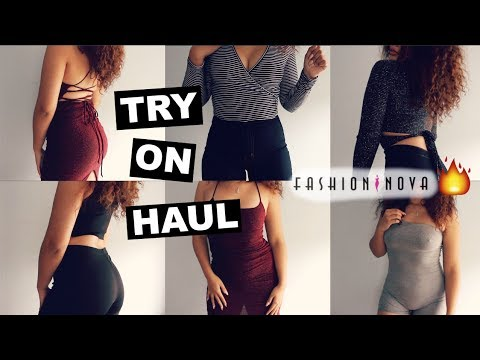 FASHION NOVA IS LIT🔥 TRY ON CLOTHING HAUL!!