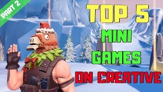 cool creative codes fortnite minigames