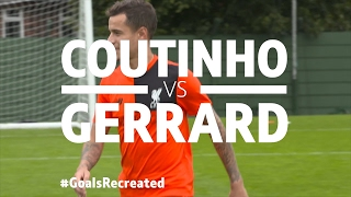 Coutinho v Gerrard   Iconic Olympiacos stunner for BT Sports