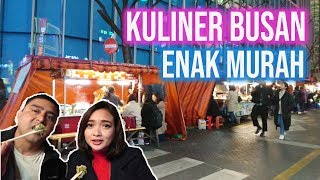 Download Kuliner Malam Busan Street Food in Seomyeon Market Video
