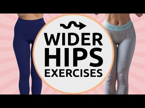 Get WIDER HIPS | 9 Exercises for Wider Hips | HIP DIPS FIX!