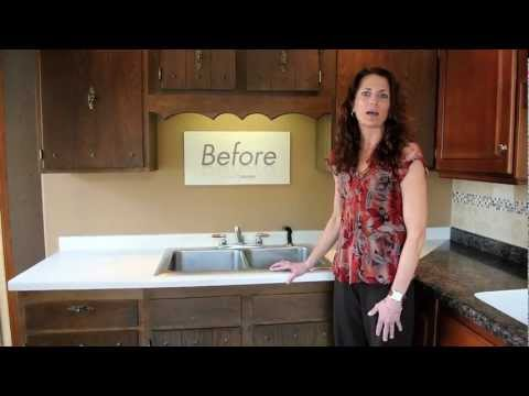 Kitchen Cabinet Refacing Before and After - Kitchen Solvers