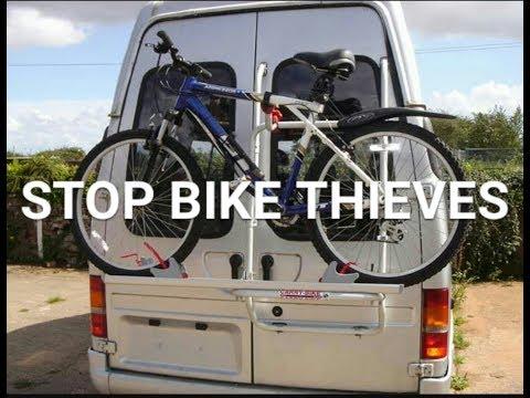 Bicycle Storage Idea & Free Sticker Update.