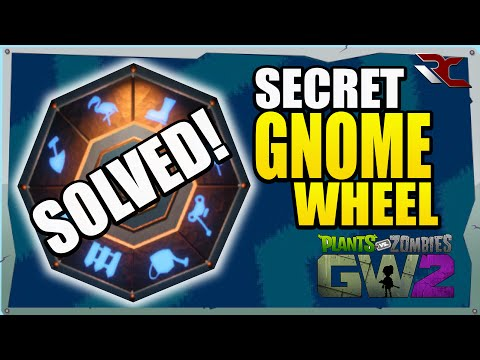 Solving the Secret Gold Gnome Wheel | Plants vs Zombies Garden Warfare 2 - Secret Wheel Combination