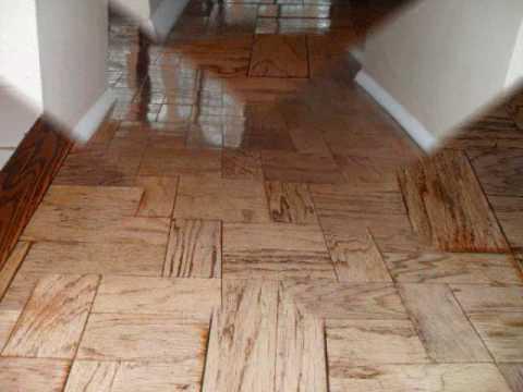 Buffing HardWood Floor