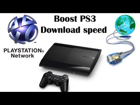 Boost PS3 download speed using Proxy server