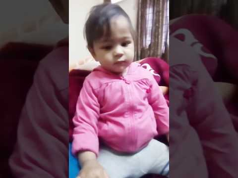 10 months old Baby mimics the sound of WHISTLE .