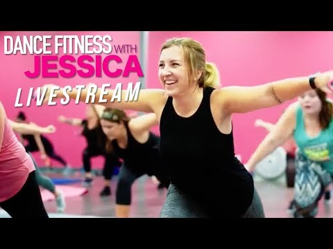 Dance Fitness with Jessica Live Stream will change your life! 40 workouts for only $20/month