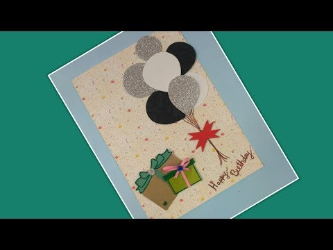 Birthday Cards for Friend Husband Boyfriend,DIY Greeting Cards Handmade for Birthday