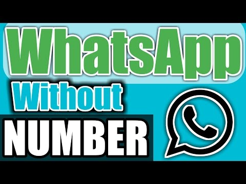 How To Install and Activate WhatsApp Without  OTP Number Verification CODE Without SIM 2017 (HINDI)