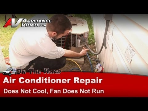Central Air Conditioner Repair - Does Not Cool, Fan Does Not Run