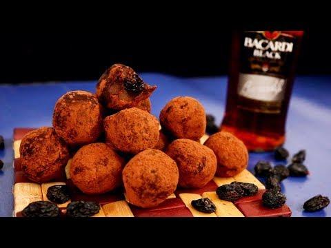Rum Raisin Milk Chocolate Truffles | Kitchen Time with Neha