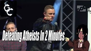 How To Beat An Atheist In Two Minutes Or Less