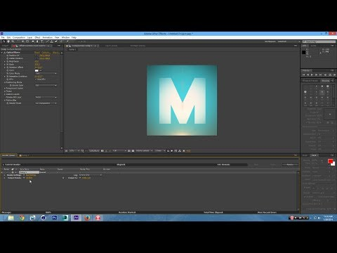 How to Make a Logo In After Effects CS6
