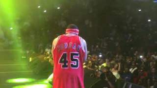 Bump j performance SUMMER JAM - ( Back Stage ) Phone footage