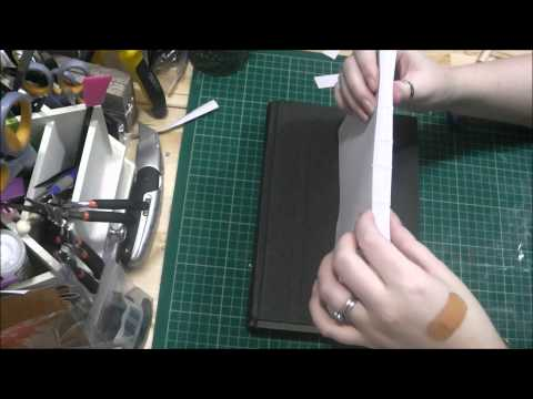 Bookbinding Tutorial Part Two A - Sewing your signatures