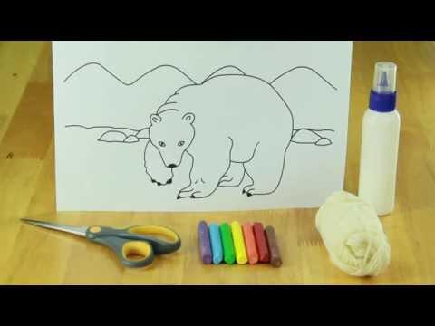 how to make polar bear