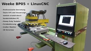 19 LinuxCNC & Mesa 7i76e + 7i85 - Ethernet - Erste