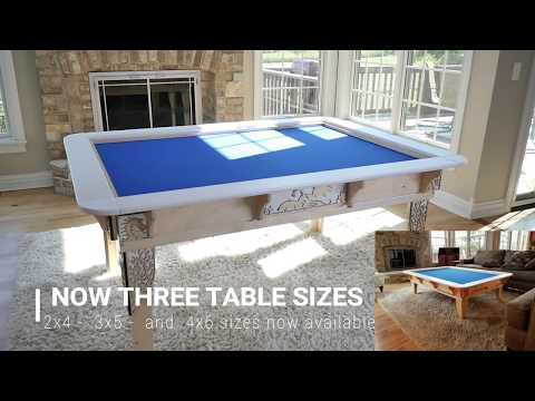Worlds Best Table Top Gaming Table System! Funded in 5 minutes!