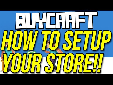 How To Setup A Buycraft Store To Start Selling Today!!