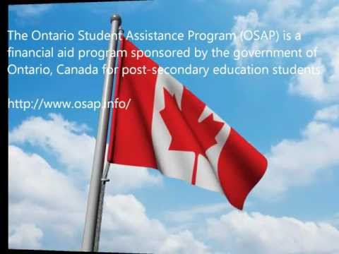 OSAP - Ontario Student Assistance Program Information