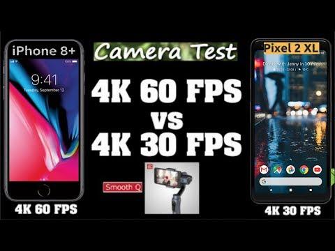 IPhone 8 Plus 4K 60fps vs Google Pixel 2 XL 4K 30fps Video Comparison ! Shot on Smooth Q Gimble