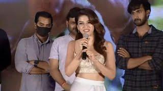 Mehreen Pirzada Speech at Manchi Rojulu Vachayi Movie Intro Launch| Santhosh Shobhan | TV5 Tollywood