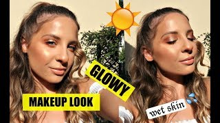 Glowy Summer Makeup Look| Raluca Oaida