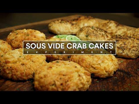 Sous Vide CRAB CAKES Experiment!