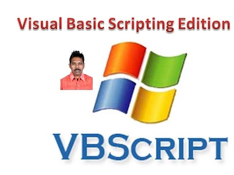 VBScript Tutorial 1: Overview of of VBScript