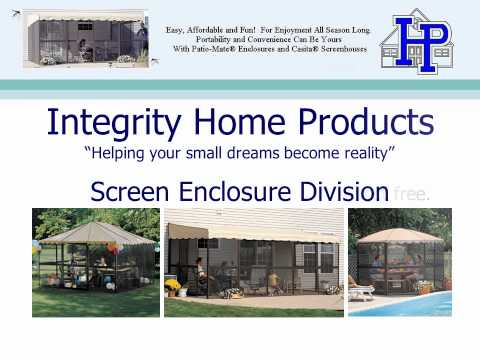 Integrity Home Products - Screen Enclosures