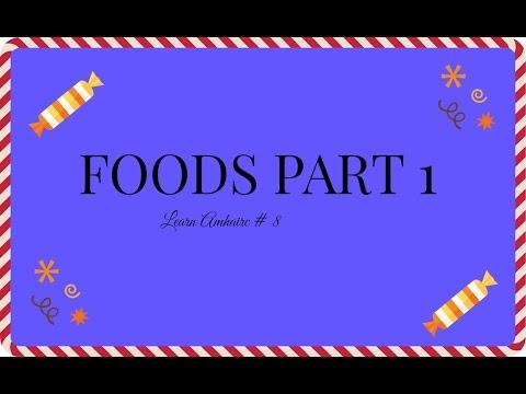 Foods in Amharic: Learn Amharic #8