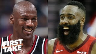 Calling Harden a better scorer than MJ is absurd - Will Cain rips Daryl Morey   First Take