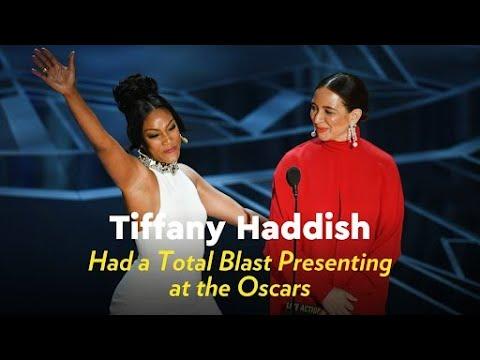 Tiffany Haddish Had a Total Blast Presenting at the Oscars