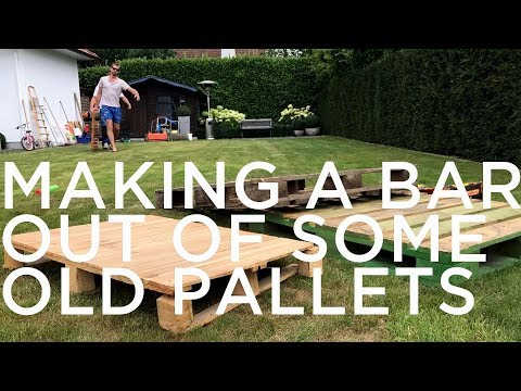 Pallet Bar Quick & Easy