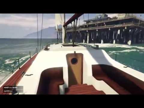 GTA 5 - Sailing Around the Island