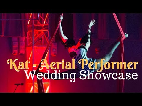 Kat - Aerial Performer // Unique Wedding Entertainment For Hire at Warble Ents.