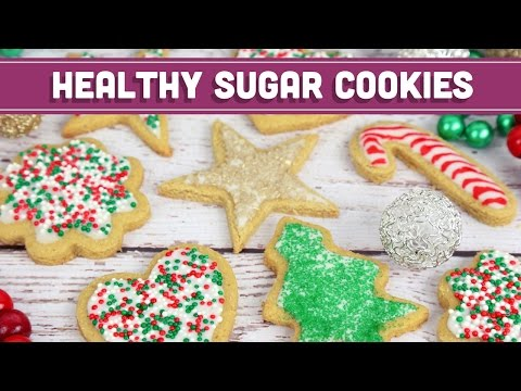 Healthy Sugar Cookies! Christmas Holiday Recipe - Mind Over Munch