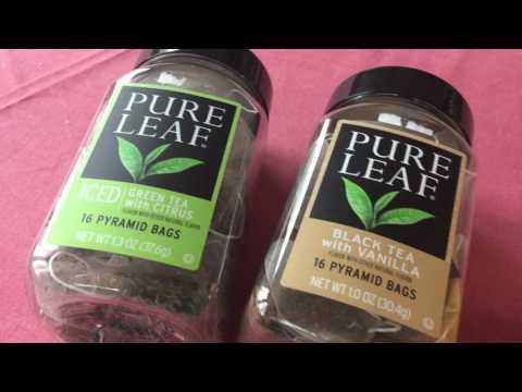 Pure Leaf and Influenster review of PureLeaf home brew iced tea and black tea