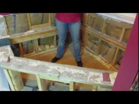 DIY HIP CHicks How to Remove a Corner Bath Tub