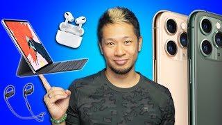 iPhone 9 & 12 Pro leaks, Powerbeats 4, AirPods Pro 'Lite' & iPad Pro w/ TrackPad!