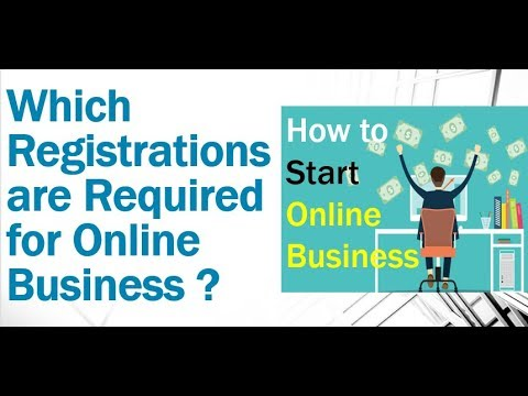 How to Start ONLINE BUSINESS | Which REGISTRATIONS / LICENSE are Required ? Cheapest WAY of Starting