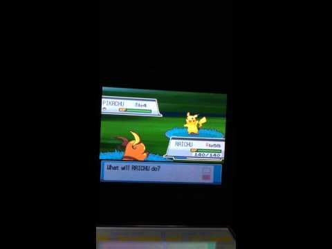 How to catch pikachu at Pokemon HeartGold/SoulSilver