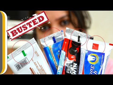 Toothpaste Colour Code Myth Busted !