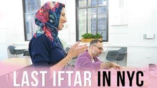 Last Iftar In NYC  - RAMADAN VLOG DAY 29