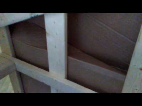Fixing a squeaky box spring pt 3
