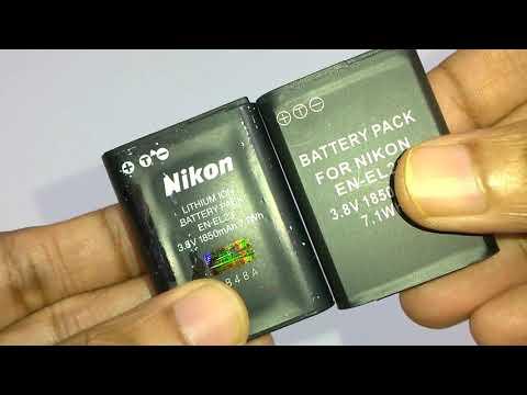 Nikon Battery -Original vs Compatible (EN-EL23 )